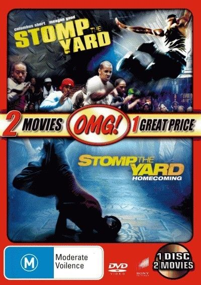 Stomp-the-Yard-Stomp-the-Yard-2-Homecoming-NEW-DVD-Keith-David