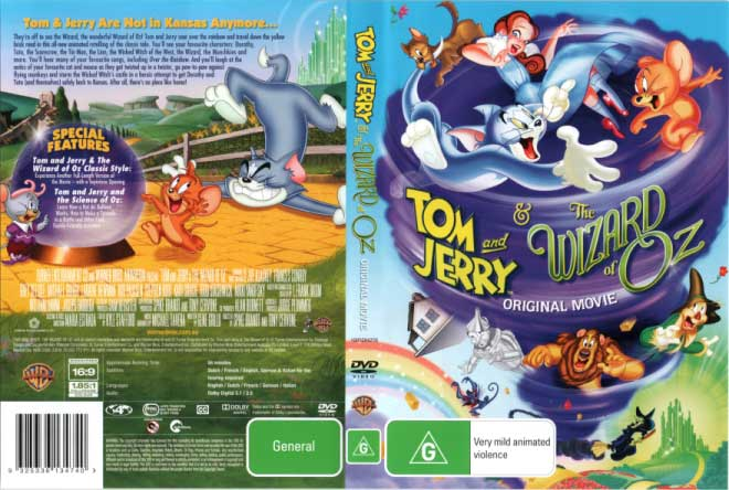 Tom And Jerry Wizard Of Oz Dvd Tom and Jerry: ...