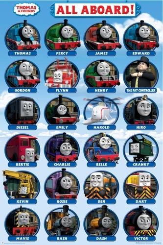 All thomas trains games