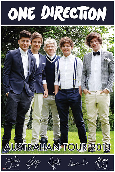 One-Direction-Australian-Tour-2013-Navy-POSTER-60x90cm-NEW-1D-Boy-Band