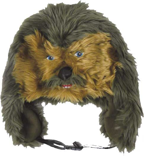 Star-Wars-Chewbacca-Plush-Hat-NEW-wookie-dress-up