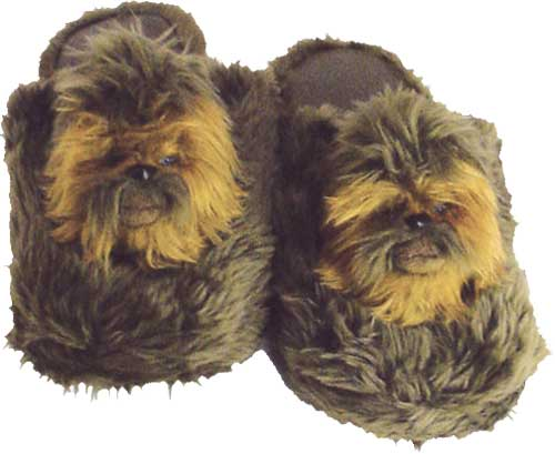 Star-Wars-Chewbacca-Slippers-Large-NEW-wookie-home-footwear
