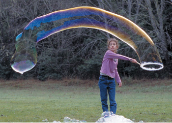 how to make a bubble wand for giant bubbles