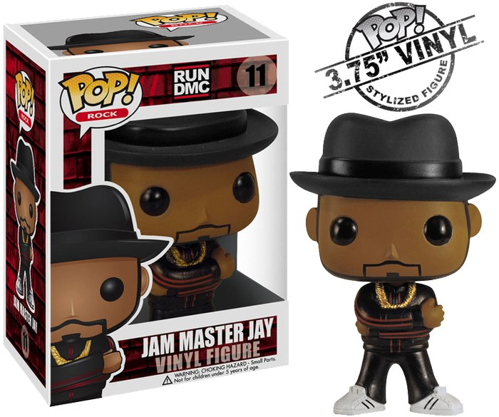 Run-DMC-Jam-Master-Jay-Pop-Vinyl-Figure-NEW-In-Box-Funko-rock-rapper