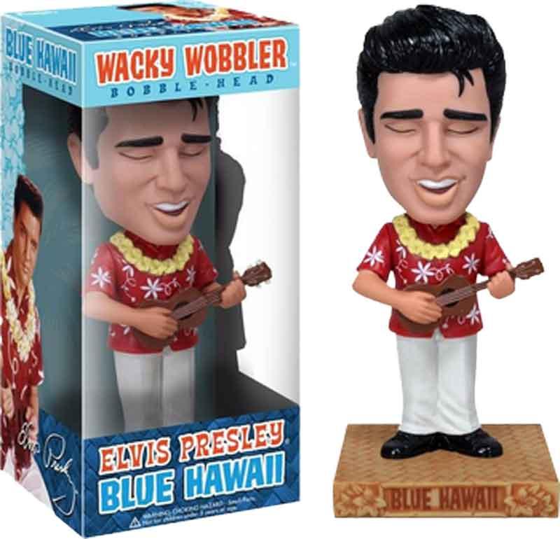 Elvis-Presley-Blue-Hawaii-Wacky-Wobbler-Bobble-Head-Figure-NEW-IN-BOX-Funko