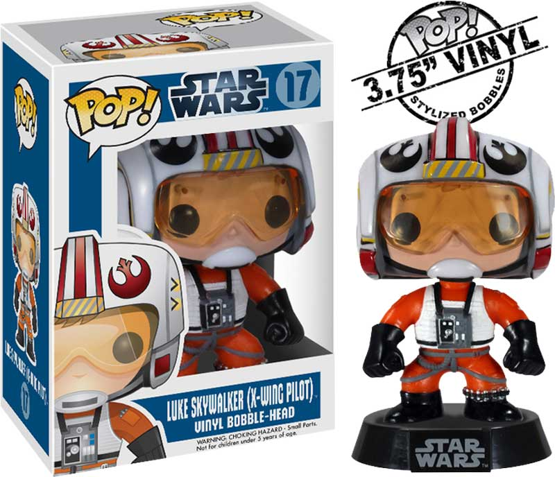 Star-Wars-Luke-Skywalker-X-Wing-Pilot-Pop-Vinyl-Bobble-Figure-NEW-Funko