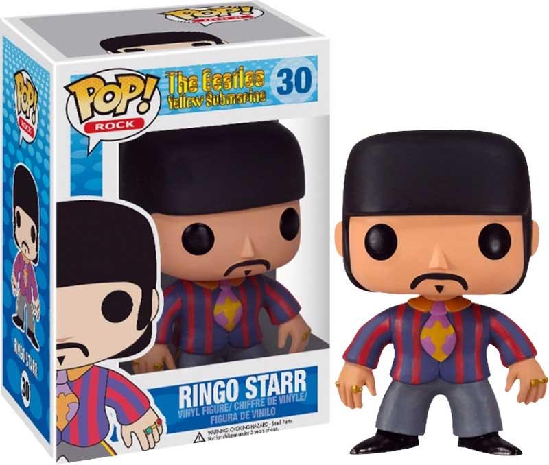 Beatles-Ringo-Starr-Pop-Vinyl-Figure-NEW-In-Box-Yellow-Submarine-Theme