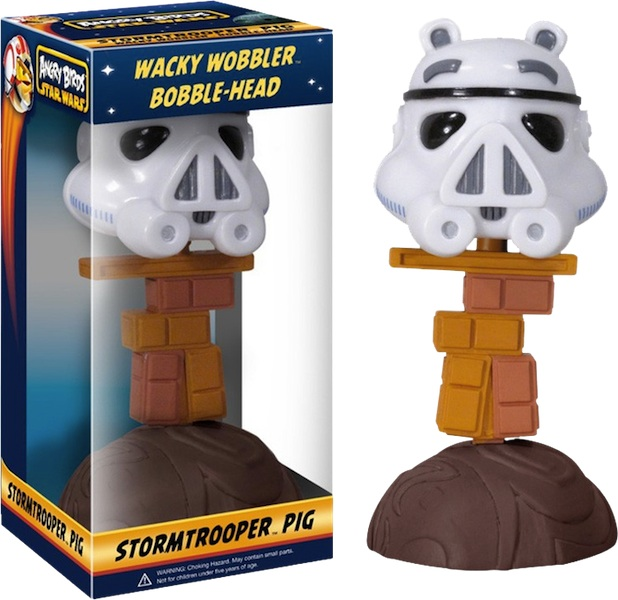 Angry-Birds-Star-Wars-Stormtrooper-Piggy-Wacky-Wobbler-Bobble-Head-Figure-NEW