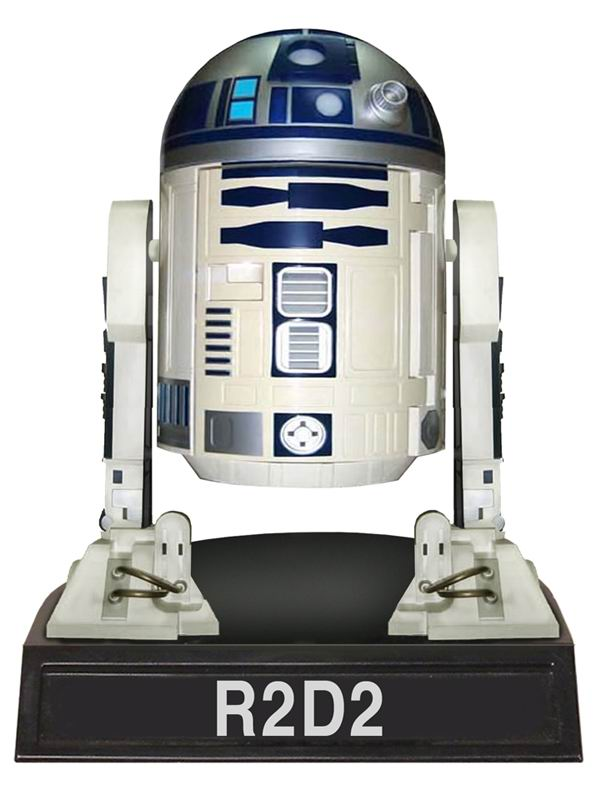 Star-Wars-R2-D2-Wacky-Wobbler-Bobble-Head-Figure-NEW