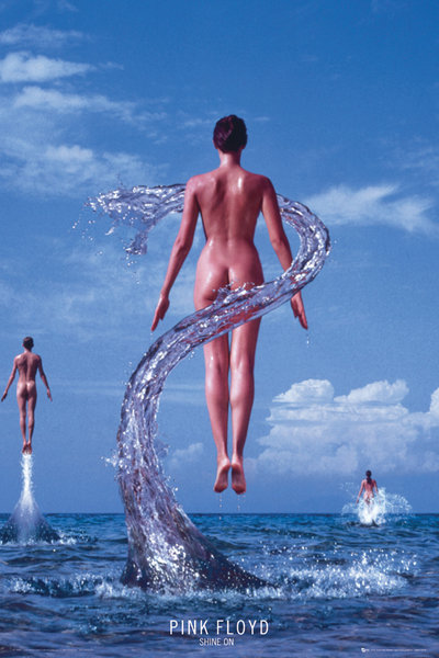 Pink-Floyd-Shine-On-POSTER-60x90cm-NEW-band-music-artwork-floating-girls-water