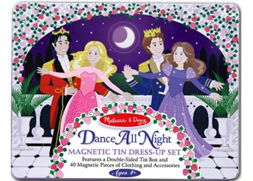 Melissa-and-Doug-Magnetic-Play-Dance-All-Night-Princess-Set-NEW-wooden