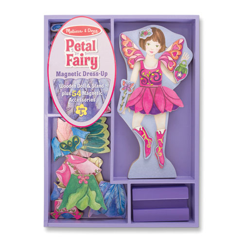 Melissa-and-Doug-Fairy-Magnetic-Dress-Up-NEW-wooden-child-toy-play-set