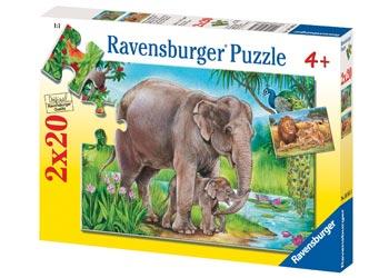 ravensburger puzzle 2x20