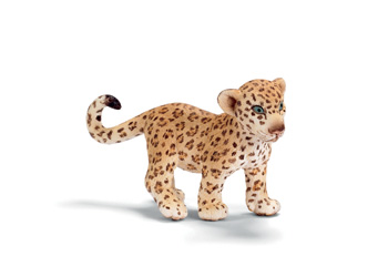 Leopard-Cub-Baby-Schleich-toy-figure-NEW-Wild-Life-Animal-Africa