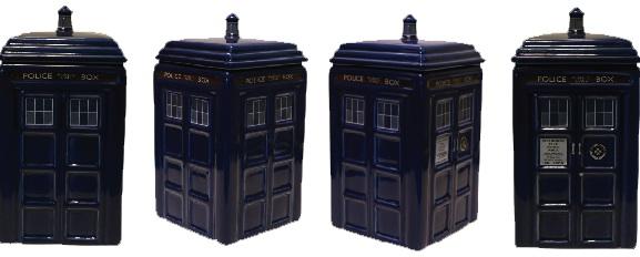 Doctor who tardis ceramic money bank new in box coin savings safe - Tardis piggy bank ...