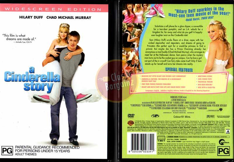 A CINDERELLA STORY Hilary Duff Chad Michael Murray NEW