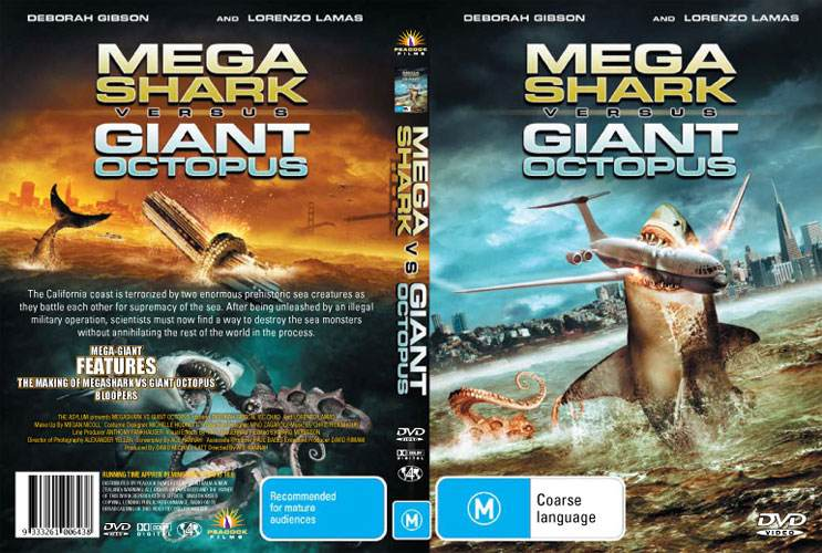Mega Shark Versus Giant Octopus Lorenzo Lamas New DVD ...