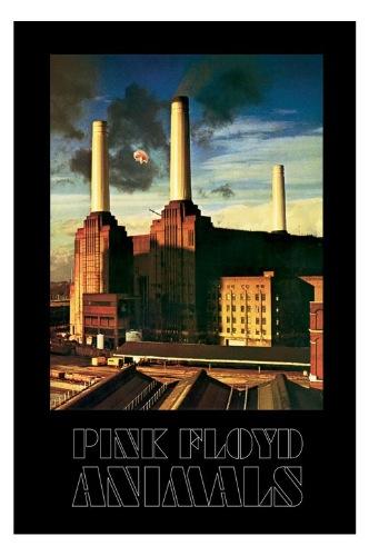 pink floyd animals poster battersea power station new ebay