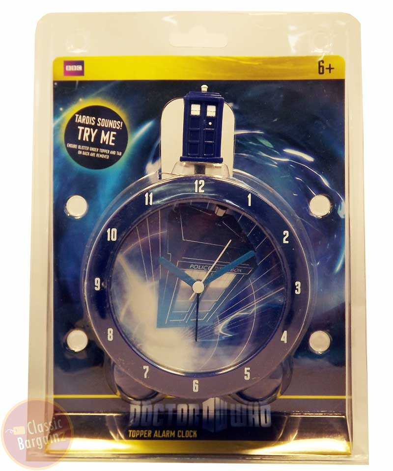 Doctor who tardis topper alarm clock new in box ebay - Tardis alarm clock ...