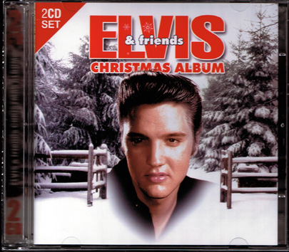 Elvis-Presley-Friends-Christmas-Album-2-CD-Music-NEW-Crosby-Como-Cole-Garland