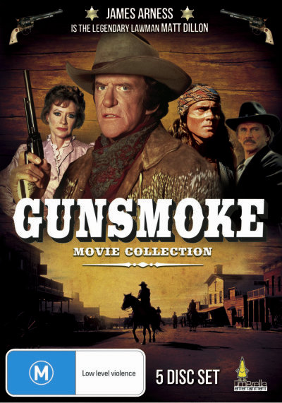 gunsmoke movie collection 5dvd set james arness last