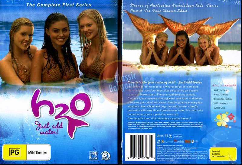 Description  H2o Just Add Water Season 4 Mermaids