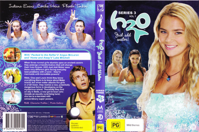 H2o just add water season 3 volume 1 new 2 dvd h20 for H20 just add water seasons