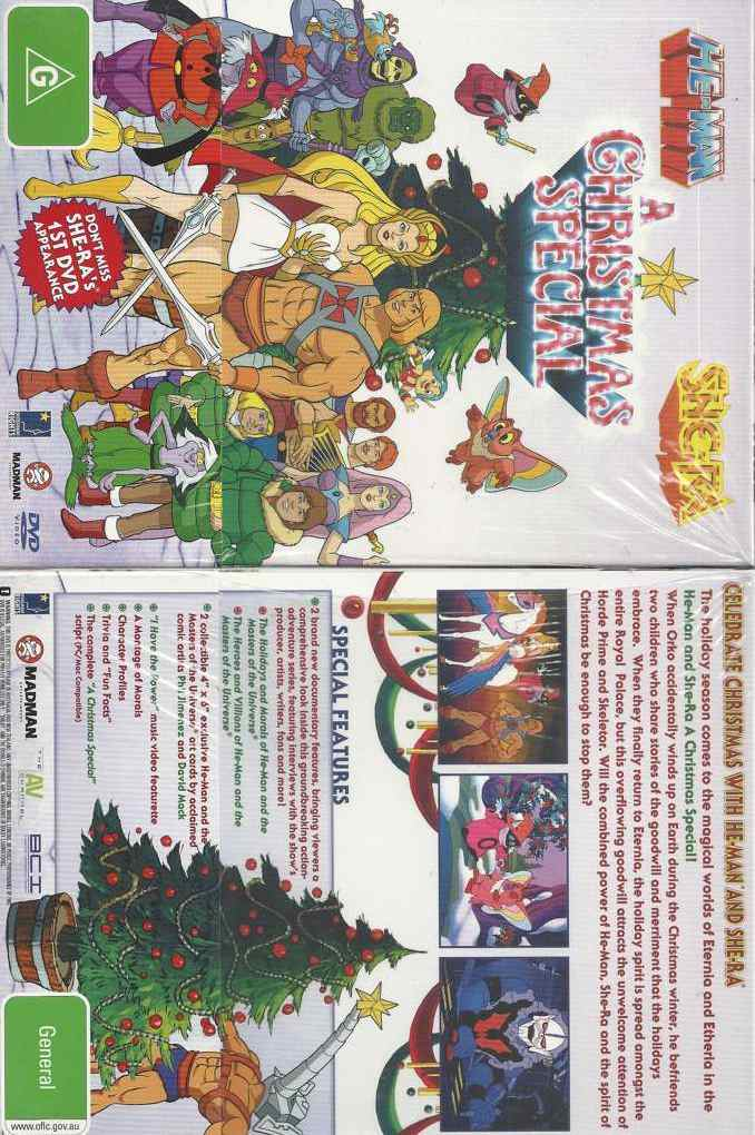 He-Man and She-Ra: A Christmas Special * NEW DVD * (Region 4 ...