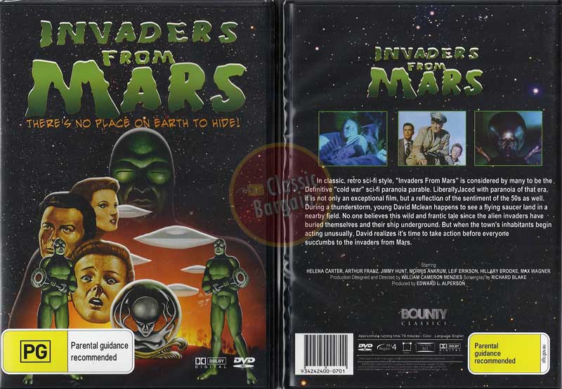 invaders from mars dvd - photo #32