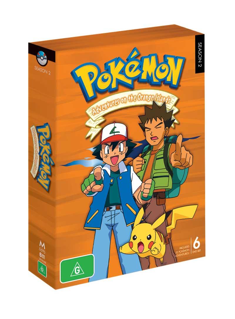 Pokemon orange islands dvd / Best western marina island