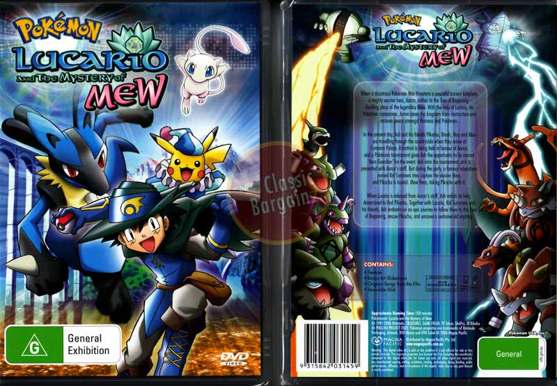Pokemon Lucario And The Mystery Of Mew Full Movie