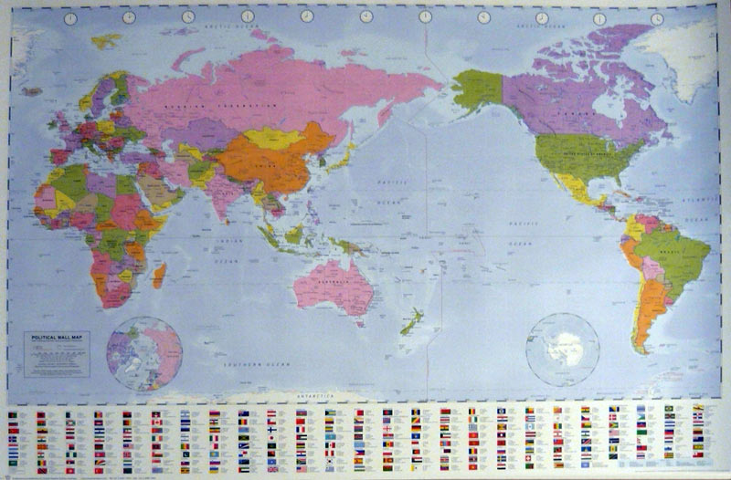 Maps Posters - Worldmap Poster