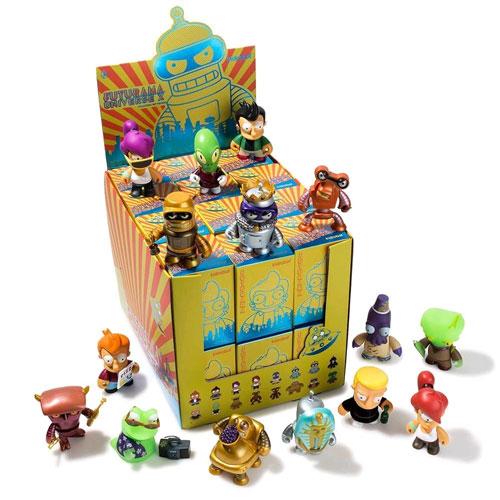 Futurama-Universe-X-Mini-Series-Blind-Box-Set-of-24-NEW-Kidrobot